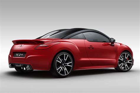 peugeot rcz r price and specs pictures evo