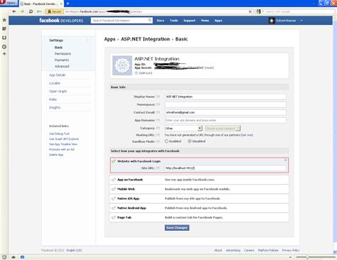 asp net tutorial 8 create a login website creating master the net blog using facebook login in asp net application