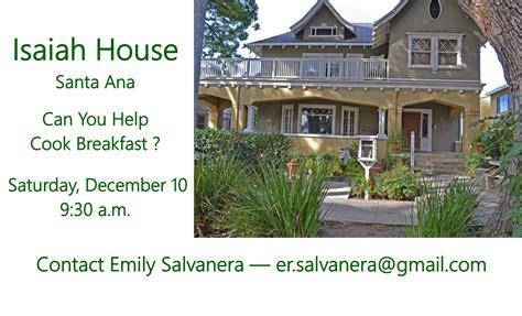 Isaiah House by St S Episcopal Church Rancho Santa Margarita Ca