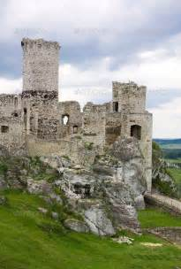 old castle old castle ruins in poland in europe beauty in ruins
