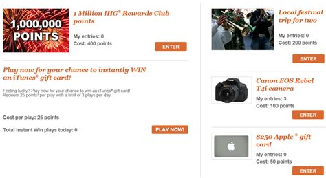 Ihg Sweepstakes - ihg sweepstakes sucks your points like a vacuum jan 6 march 30 2014 loyalty traveler