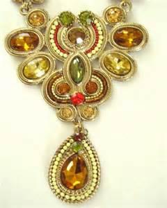 susan graver jeweled necklace