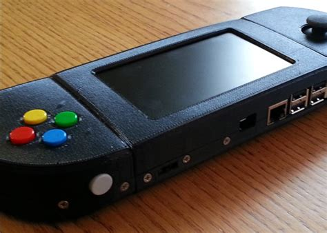 raspberry pi game console super game pisp raspberry pi powered handheld inspired by psp