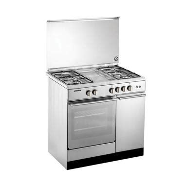 Kompor Gas Modena Fc 7200 jual modena fc7943s kompor gas with oven freestanding 4 tungku 90 cm stainless steel
