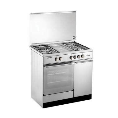 Daftar Kompor Modena jual modena fc7943s kompor gas with oven freestanding 4
