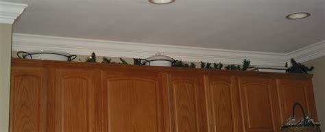 decorations on top of kitchen cabinets 301 moved permanently