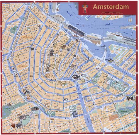Amsterdam Kaart   Interactieve en Gedetailleerde Plattegronden van Amsterdam   OrangeSmile.com
