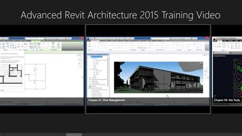 video tutorial revit 2015 advanced revit architecture 2015 training video windows