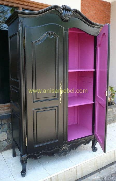 Lemari Pakaian Warna Ungu lemari pakaian 2 pintu warna hitam anisamebeljati