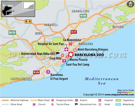 barcelona zoo map barcelona zoo spain map facts location best time to