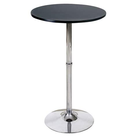 google chrome black bar top madison bar table black top chrome base dcg stores