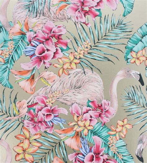 wallpaper direct flamingo 1000 images about tropical print and pattern on pinterest