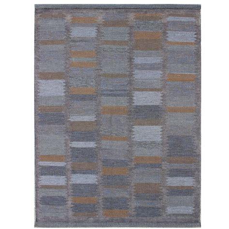 scandinavian design rugs modern scandinavian swedish geometric design rug for sale at 1stdibs
