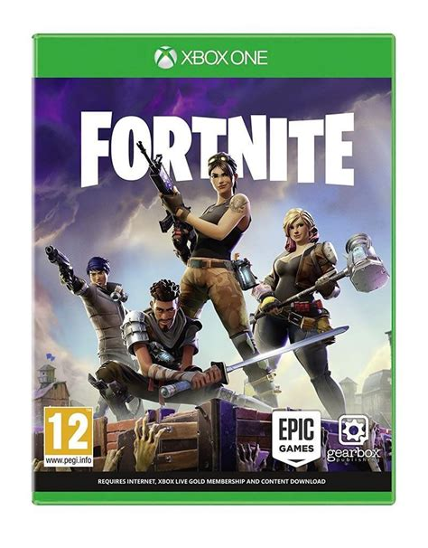 fortnite xbox one review fortnite xbox one by epic pegi rating 12