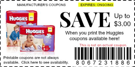 printable pers diaper coupons 2014 huggies coupons manufacturer coupons
