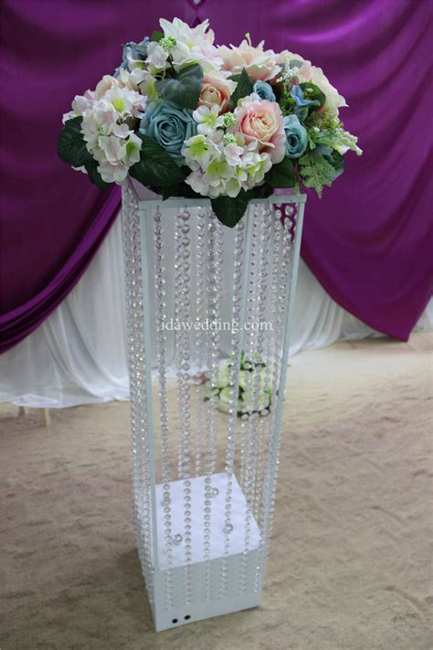 Wedding Aisle Flower Stands by Lighted Aisle Stands Weddings Flower Pillars Stands