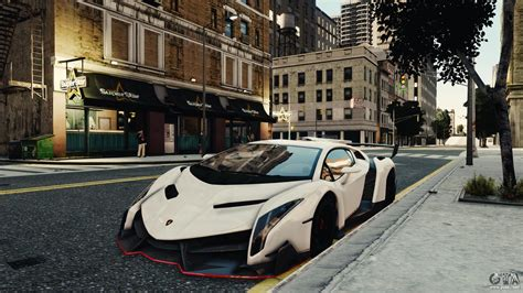 Gta 4 Cheats For Lamborghini Lamborghini Veneno For Gta 4