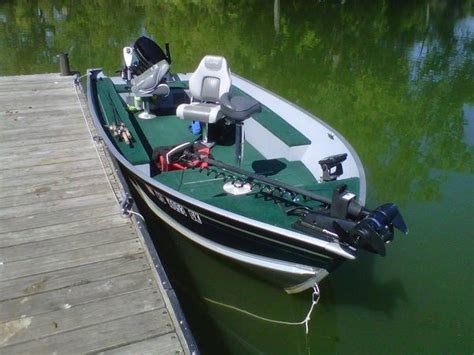 should i buy a new or used fishing boat should i buy a 16 ft lund with a 25 hp
