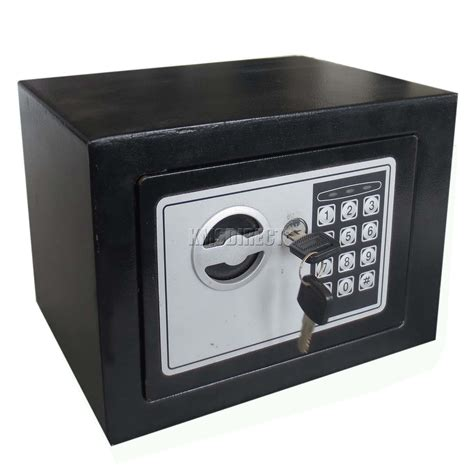 foxhunter black safe security digital electronic steel box