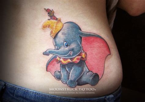dumbo tattoo 50 original elephant designs 7 is genius