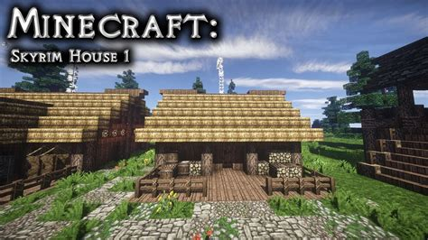 How To Find Blueprints Of Your House Minecraft Skyrim House Tutorial 1 Youtube