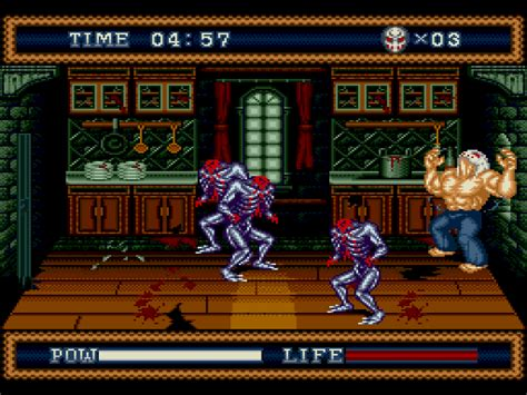 splatter house 3 screenshots gamefabrique