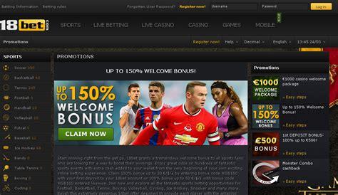 best bet website 18bet review sports betting bonus