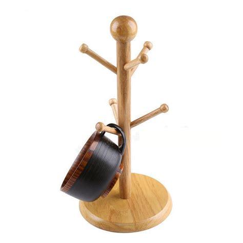 Cabinet Coffee Cup Holder by Fashion Wooden Mug Tree Coffee Cup Racks Mug Holder Cup