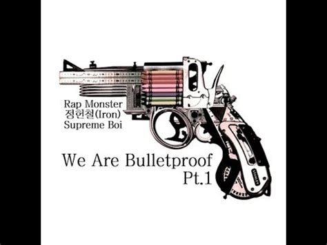 download mp3 bts we are bulletproof pt 1 we are bulletproof pt 1 rap monster 정헌철 iron supreme