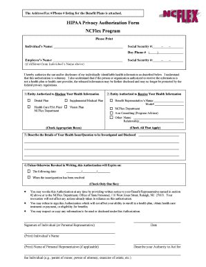 sle of hipaa authorization form bill of sale form district of columbia authorization for