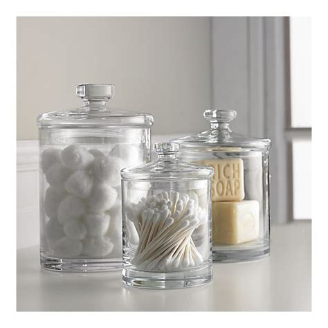 glass jars for bathroom glass canisters for bathroom storage again don t have