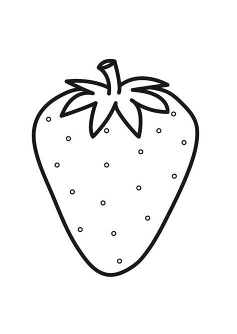imagenes para colorear fresa dibujo para colorear fresa img 23174
