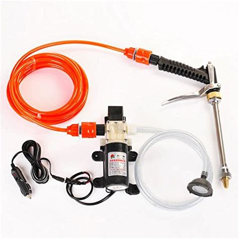 Alat Semprot Gun Stik Jet Cleaner High Pressure Diskon diy portable car washer with water gun high pressure pipe