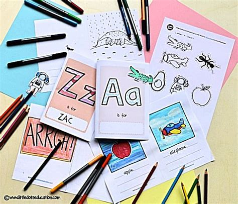9 Best Free Alphabet Flashcards And Printables Images On Pinterest Preschool Printables Make Your Own Alphabet Book Template