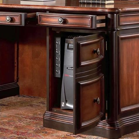 coaster pergola home office credenza desk 800500