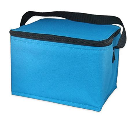 Freezer Box Aqua easylunchboxes insulated lunch box cooler bag aqua in the