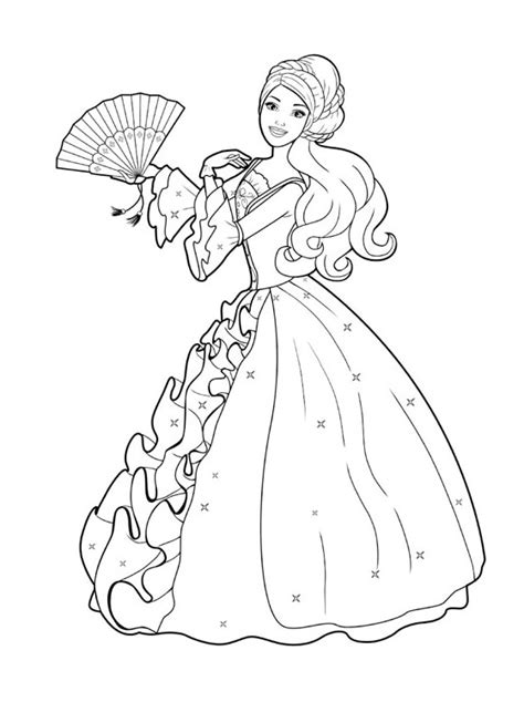 barbie coloring pages for toddlers kids page barbie coloring pages for childrens