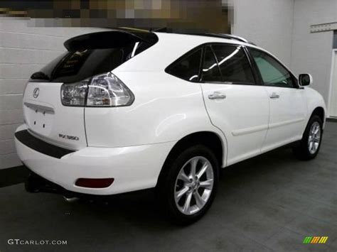 lexus rx white 2009 white mica lexus rx 350 awd 16034548 photo