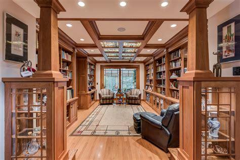 craftsman library seymour craftsman living room  darcy bean custom construction