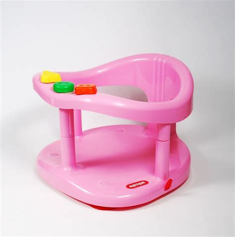 New baby infant bath ring tub seat by keter safety anti slip chair
