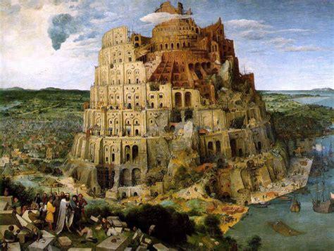 tour de la tour de babel de pieter bruegel