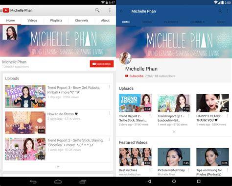 download layout youtube 2014 download youtube app erstrahlt im material design und