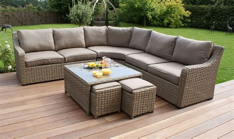 Rattan Patio Furniture Set Rattan Garden Sofa Sets New Rattan Wicker Conservatory Outdoor Garden Furniture Set Brown Thesofa