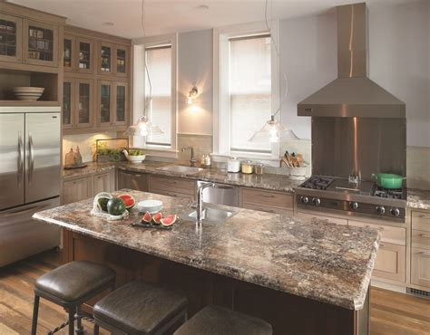 Kitchen Countertops Lowes Lowes Countertops Beautiful Allen Roth Quartz Countertops In Saffron At Loweus An Exle Of