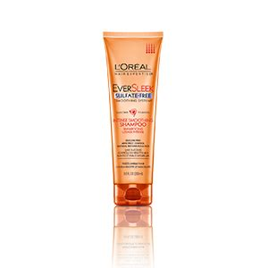 loral paris hair expertise eversleek smoothing hair care conditioner shoo for frizzy hair l or 233 al