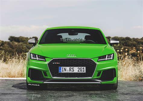 Audi Tt Facelift by 2018 Audi Tt Rs Facelift Der Scharfe Sportler Bekommt Eine