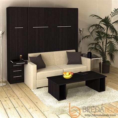 inline murphy bed with hutch and inline sofa murphy bed