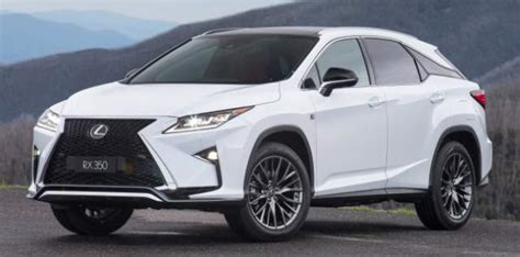 cost lexus rx 350 2018 lexus rx 350 mpg and cost
