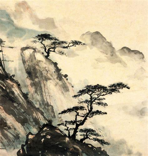 chinese landscape custom wallpaper mural print  jw