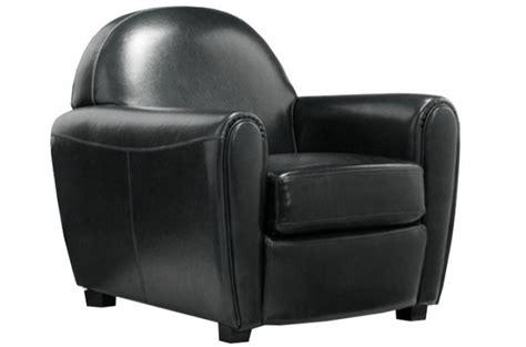 fauteuil club noir pas cher fauteuil club noir design pas cher